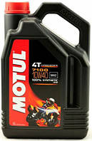 Масло моторное синтетическое для мотоцикла Motul 7100 4T 10W40, 4л
