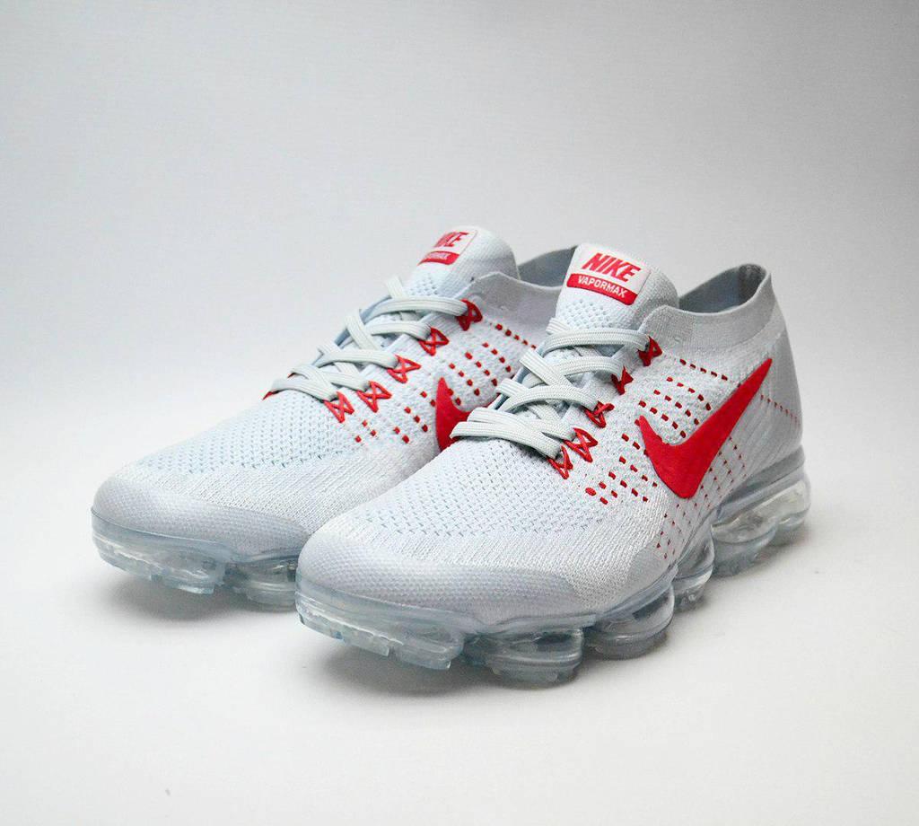 Nike VaporMax Grey Red (реплика)