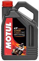 Масло моторное для мотоцикла Motul 7100 4T SAE 10W60 (4L)