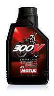 Масло моторное для мотоцикла Motul 300V 4T Factory Line Off Road SAE 15W60 (1L)