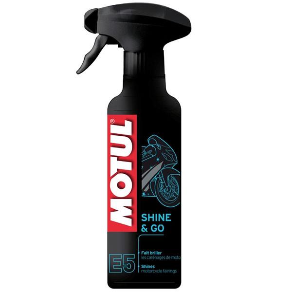 Средство для восстановление лакокрасочных покрытий Motul E5 Shine & Go, 400мл