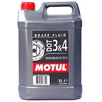 Тормозная жидкость Motul DOT 3&4, 5л