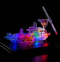 Конструктор Laser Pegs. Световая 3D панель. Дракон 57в1