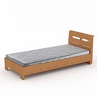 Кровать с матрасом 90 Стиль бук Компанит (94х213х95 см)