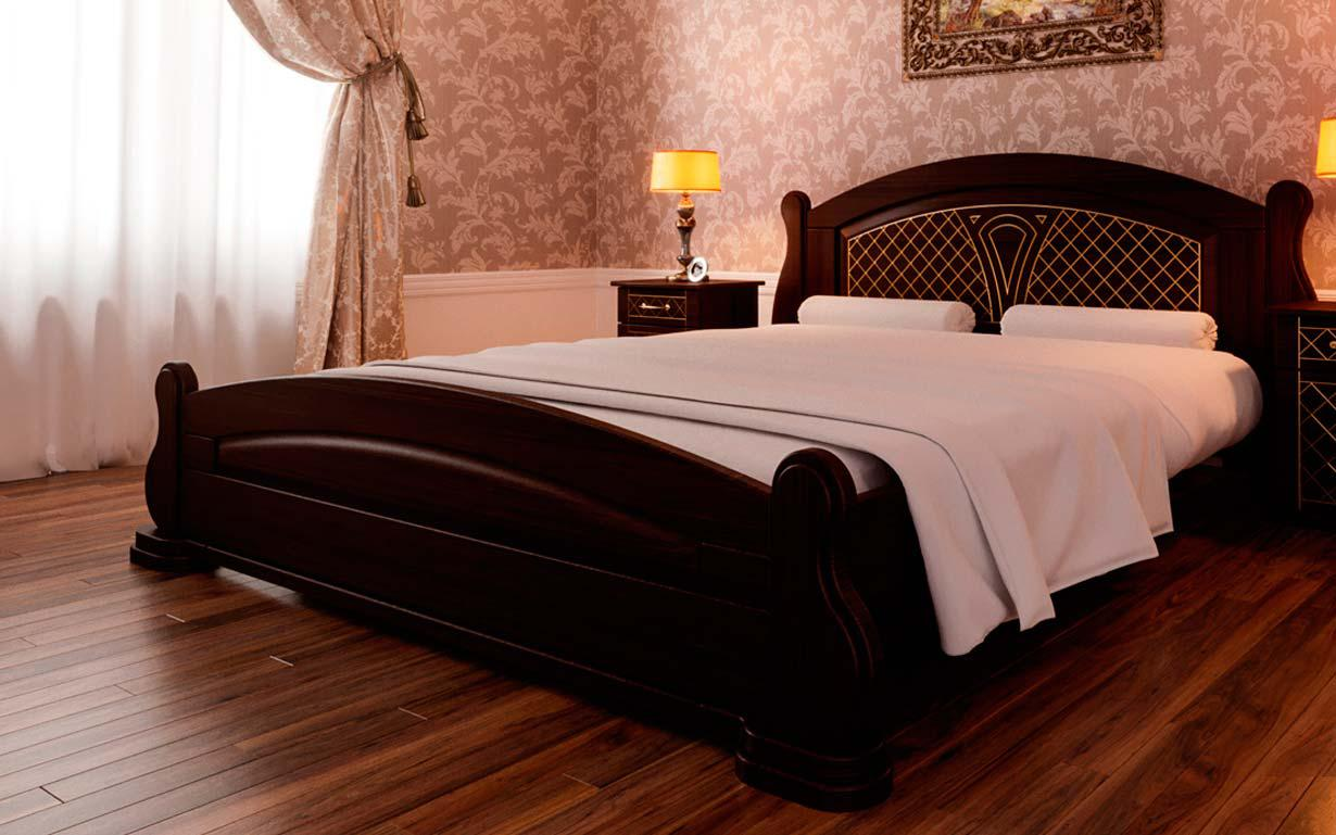 ✅ Деревянная кровать Женева 90х190 см ТМ ЧДК