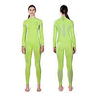 Термоштаны женские Spaio Intense W01 S зеленый XL