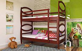 Двухъярусная кровать Наутилус 80х190 см ТМ ЧДК