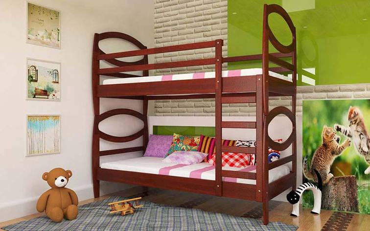 Двухъярусная кровать Наутилус 80х190 см ТМ ЧДК, фото 2
