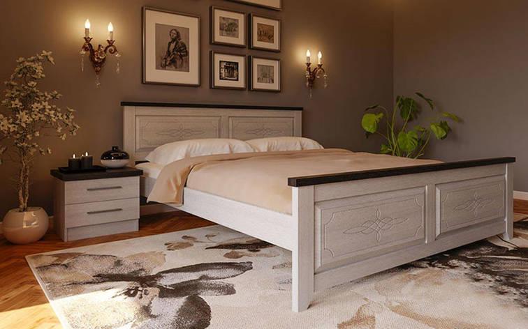 ✅ Деревянная кровать Майя-нью 90х190 см. ТМ ЧДК, фото 2