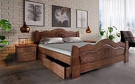 ✅ Деревянная кровать Корона 90х190 см ТМ ЧДК