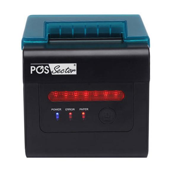 Настоящий кухонный POS принтер чеков 80/58 USB+ Ethernet