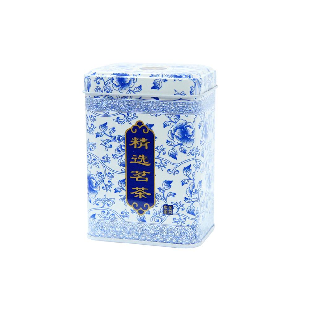 Железная банка для чая, кофе Поднебесная, 50-75г ( коробочка для сыпучих )