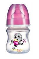 Бутылочка для кормления 0-6мес. Canpol Babies Футболисты 120 мл