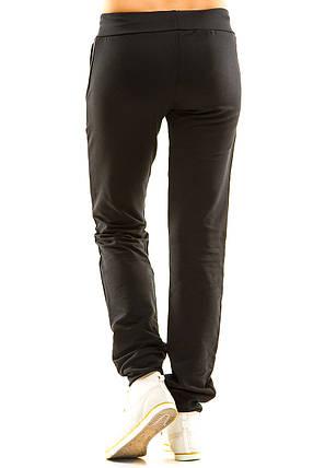 Женские спортивные штаны 411 синие размер 46, фото 2