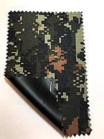 Ткань оксфорд 600 Д камуфляж (пиксель хаки 2)