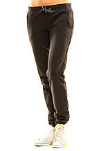 Женские спортивные штаны 411 темно-серые