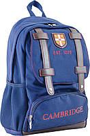 Стильный и удобный подростковый рюкзак для мальчика CA 080, синий