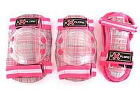 Защита для роликов детская Explore Cooper размер S розовая