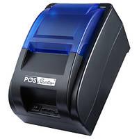Чековый POS принтер PS-H58Bt для печати на лентах на 58мм подключением Bluetooth к Android планшетам