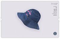 Панама джинсовая для девочки р.92/98, фото 1