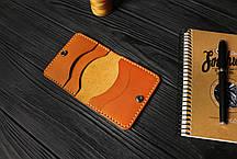 Мужской бумажник ручной работы из кожи Краст VOILE mw3-kgin-tbc, фото 2