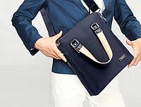 Мужская кожаная сумка. Модель 63178, фото 5