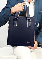 Мужская кожаная сумка. Модель 63178, фото 7