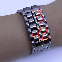 Светодиодные наручные часы браслет Iron Samurai Самурай