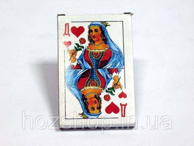Игральные карты (36 шт) Дама  (10 шт)