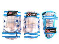Защита для роликов детская Explore Cooper размер XS синяя