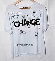 Женская футболка 44-48р
