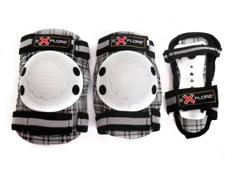 Защита для роликов детская Explore Cooper размер XS черная