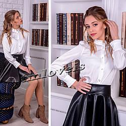 Блуза из шелка для девочки Diamond