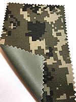 Ткань оксфорд 600 Д камуфляж (пиксель песок)
