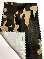 Ткань оксфорд 600 Д камуфляж коттон (командо)