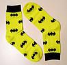 Яркие женские носки бэтмен