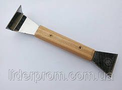 Стамеска с деревянной ручкой, 200 мм. Нержавейка.