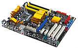 ТОПОВАЯ Плата S775 ASUS P5Q на P45 SLI 1600 FSB и DDR2 понимает ВСЕ 2-4 ЯДРА ПРОЦЫ INTEL XEON,Core2QUAD, фото 2
