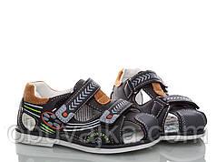 Подростковые сандалии на мальчика 2018 от фирмы MLV(27-32)
