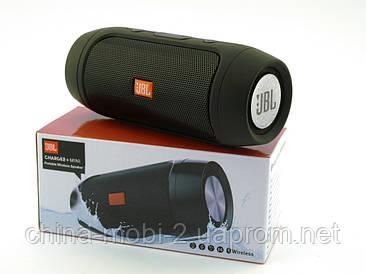 JBL Charge2+ mini w2 копія, колонка 3W c блютузом MP3 FM, black
