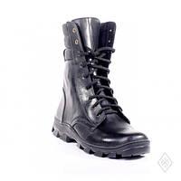 Высокие кожаные ботинки берцы облегченки 44 размер