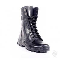 Высокие кожаные ботинки берцы облегченки 45 размер