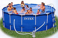 Каркасный бассейн Intex 28236//54946, 457 см х 122 см.+Хлорогенератор INTEX SALTWATER SYSTEM арт. 54