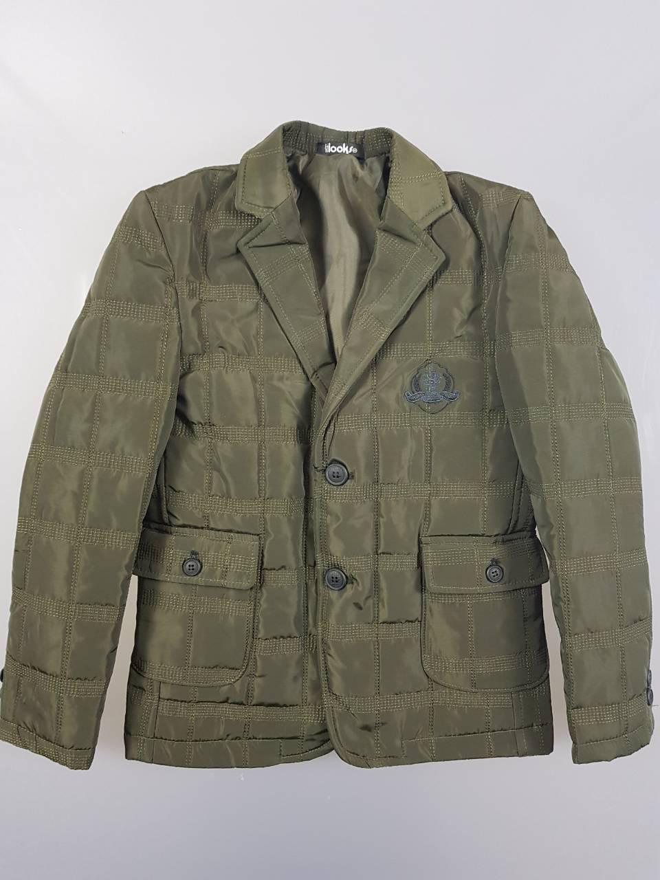 Куртка  для мальчиков Looks оптом,134-158 рр {есть:134,140,146,152,158}