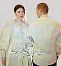 Парная одежда вышитая бохо лен для двоих, на свадьбу, вышиванки для семьи, вышиванка лен, этностиль, фото 4
