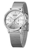Женские наручные часы Megir M2011L-1 Silver