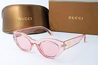 Солнцезащитные очки Gucci розовые, фото 1