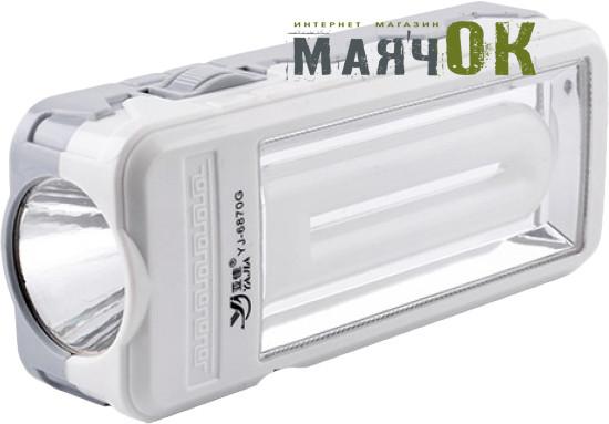 Светодиодный фонарь Yajia 6870 G, 1W+20SMD