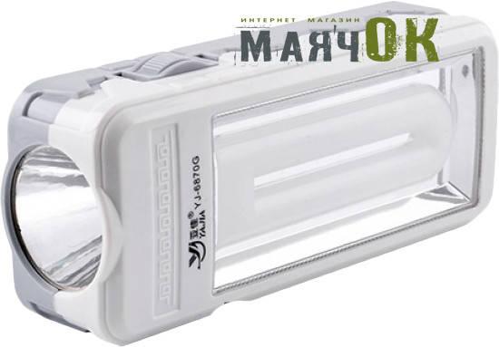 Светодиодный фонарь Yajia 6870 G, 1W+20SMD, фото 2