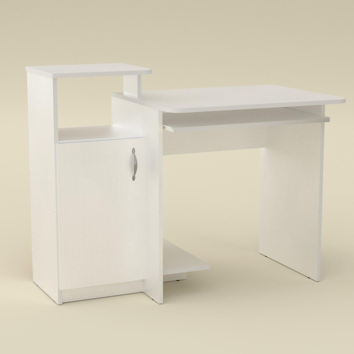 Стол компьютерный СКМ-2 белый Компанит